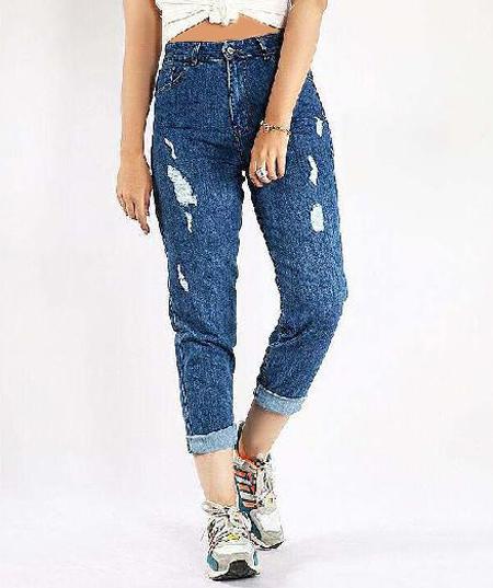 مدل شلوار جین زنانه,شلوار فاق بلند