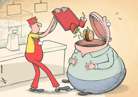 روز جهانی غذا وتغذیه,کارتون روز جهانی غذا