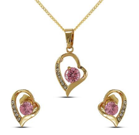 نیم ست های طلا و جواهر,مدل نیم ست جواهر